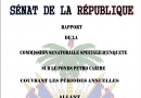 Rapport de la Commission Senatoriale du Senat d'Haiti Sur le Programme PetroCaribe