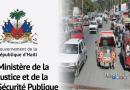 Grève: Le Ministère de la Justice et de la Sécurité Publique invite donc la population à vaquer librement à ses activités
