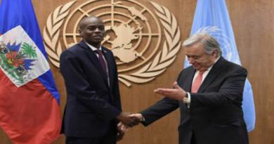 Jovenel Moïse réclame 390 millions de dollars à l'ONU pour éradiquer le choléra
