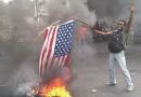 Le secteur démocratique et populaire condamne l'incendie du drapeau américain