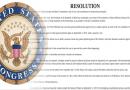 """Une résolution du congrès américain sur le dossier Haiti """"condamne de manière bipartite la violence à l'intérieur du Sénat haïtien du 11 septembre 2019, pour avoir perturbé le processus constitutionnel et l'état de droit"""""""