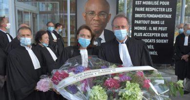 Les avocats du barreau de Paris rendent un dernier hommage au bâtonnier de Port-au-Prince Monferrier DORVAL