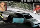 """Une vidéo choquante montre un homme """"jetant le corps de sa petite amie infirmière enceinte de six mois sur une autoroute du Queens après l'avoir étranglée à mort"""""""